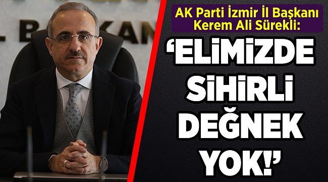 AK Parti'li Sürekli'den, Tunç Soyer'e