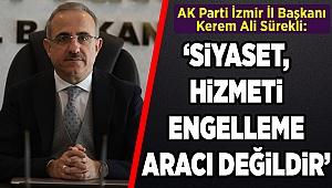 Başkan Sürekli'den Bergama Millet Bahçesi itirazlarına tepki: Siyaset; hizmet engelleme aracı değildir!