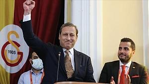 Burak Elmas Galatasaray'ın 38. başkanı oldu