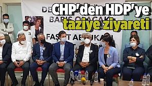 CHP'den HDP'ye taziye ziyareti