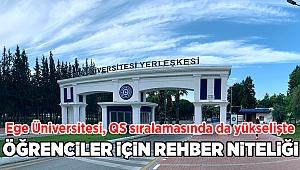 Ege Üniversitesi, QS sıralamasında da yükselişe geçti