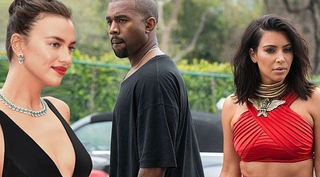 Kanye West - Irina Shayk aşkı belgelendi