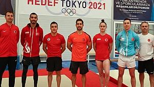 Milli cimnastikçiler Tokyo'da madalya kovalayacak