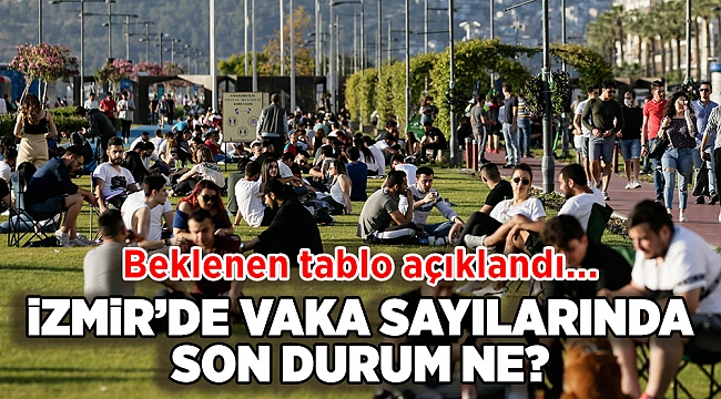 Sağlık Bakanlığı haftalık verileri yayınladı! İzmir'de son durum ne?