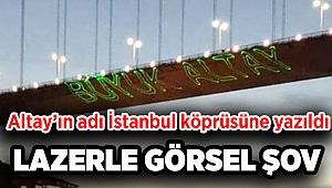 Şampiyon Altay'ın adı İstanbul'da köprüye yazıldı