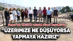 SMYRNA'NIN UNESCO ADAYLIK SÜRECİ BAYRAKLI'DA KONUŞULDU