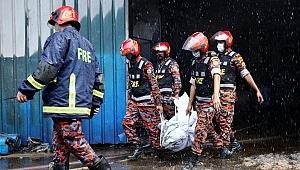Bangladeş'te fabrika yangını! Onlarca ölü var