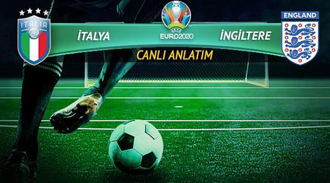 CANLI | İngiltere-İtalya