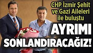 CHP İzmir Şehit ve Gazi Aileleri ile buluştu