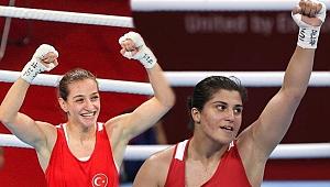 Buse Naz Çakıroğlu ve Busenaz Sürmeneli finale çıktı