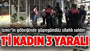 İzmir'de silahlı kavgada 3 kişi yaralandı