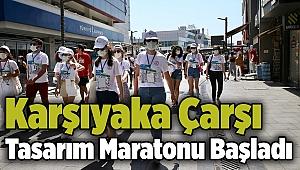 Karşıyaka Çarşı Tasarım Maratonu Başladı