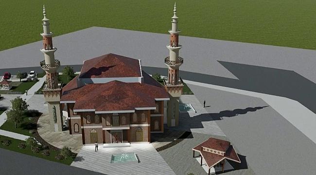 Aliağa Küçük Sanayi Sitesi'ne yeni cami projesi