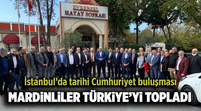 İSTANBUL'DA TARİHİ CUMHURİYET BULUŞMASI