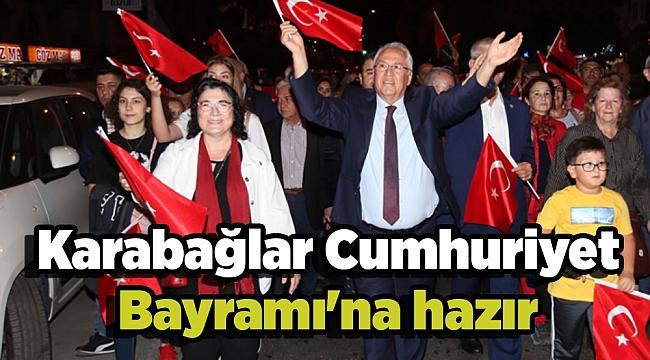 Karabağlar Cumhuriyet Bayramı'na hazır