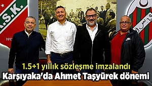 Karşıyaka'da Ahmet Taşyürek dönemi