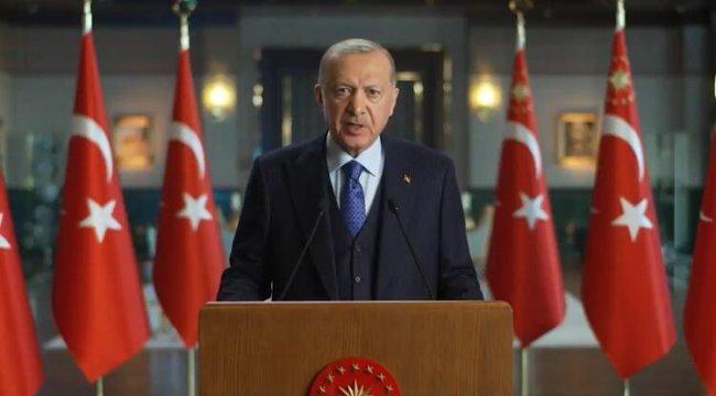 Erdoğan: Tüm ülkelerin elini taşın altına koyması şart
