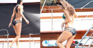 Ebru Şallı'dan Bikini Şov