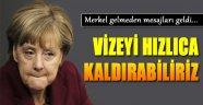 Merkel Gelmeden Mesajları Geldi...