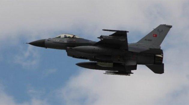 TSK'dan Suriye'deki Hedeflere Hava Harekatı!